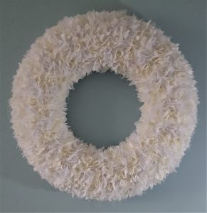 WHITE WREATH 1