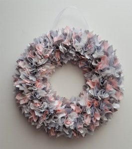 WREATH GREY-PINK